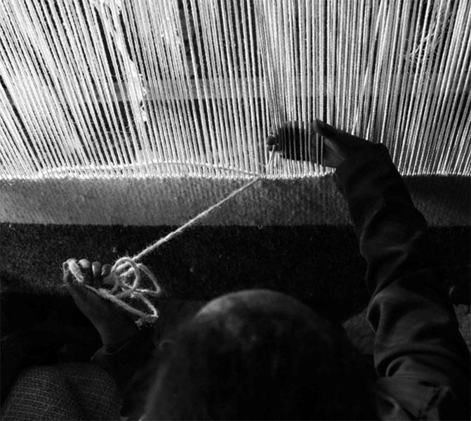 Sera Helsinki Weaving Process