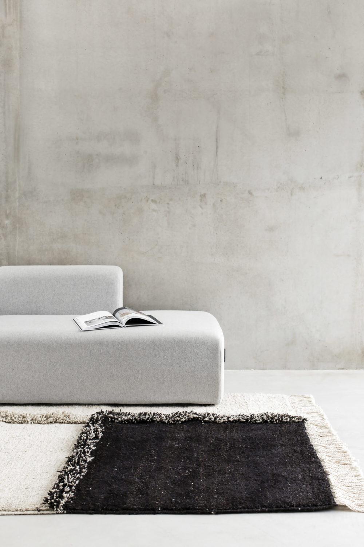 Sera Helsinki E1027 Black & White Knotted Carpet