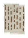 Sera Helsinki Laine Carpet Brown-White woven