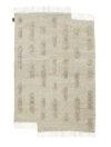 Sera Helsinki_Laine Carpet_White_Woven