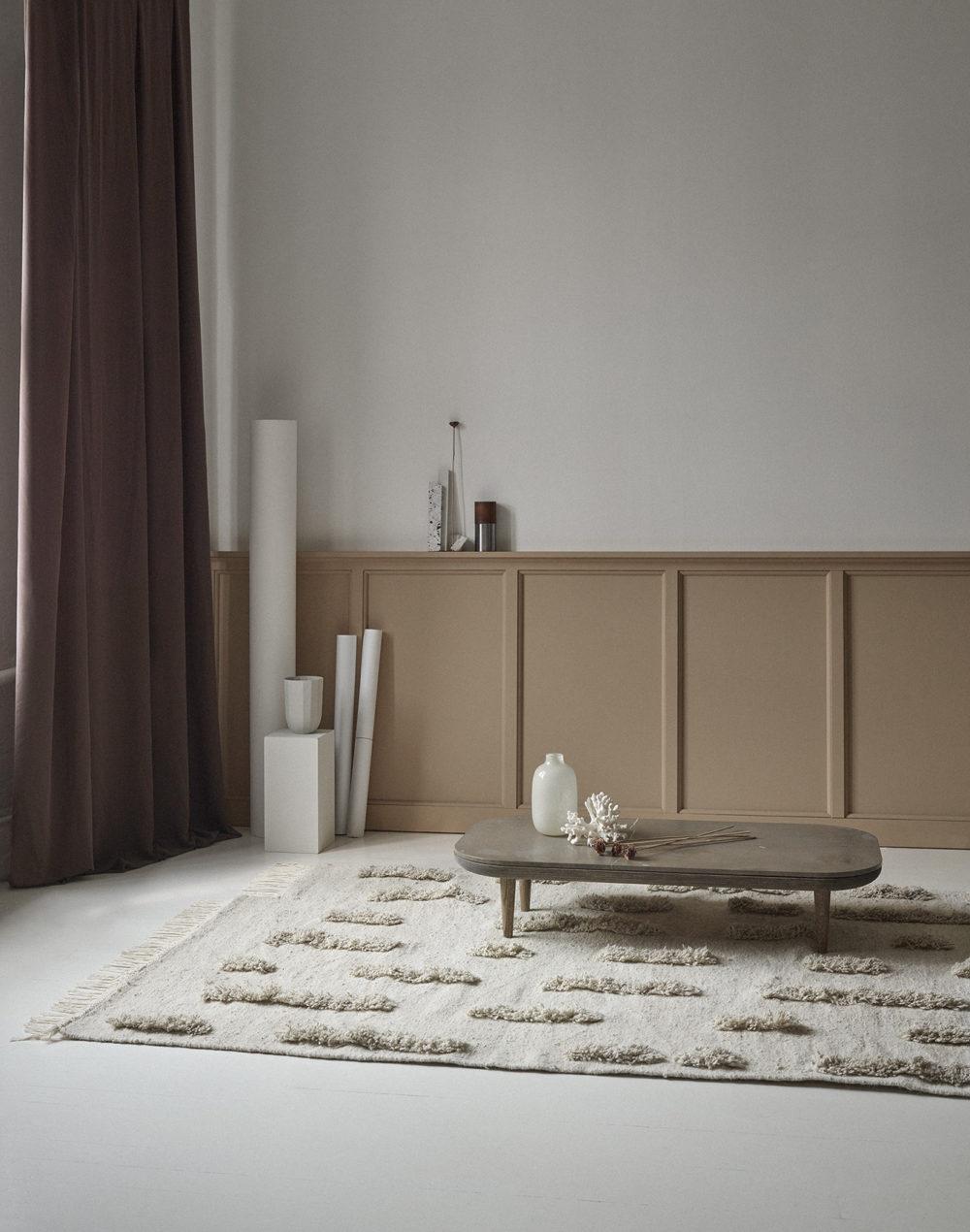 Sera Helsinki Laine Carpet White Woven